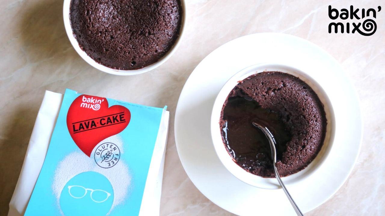 Odlična torta Lava cake v samo 10 minutah! Recept brez glutena