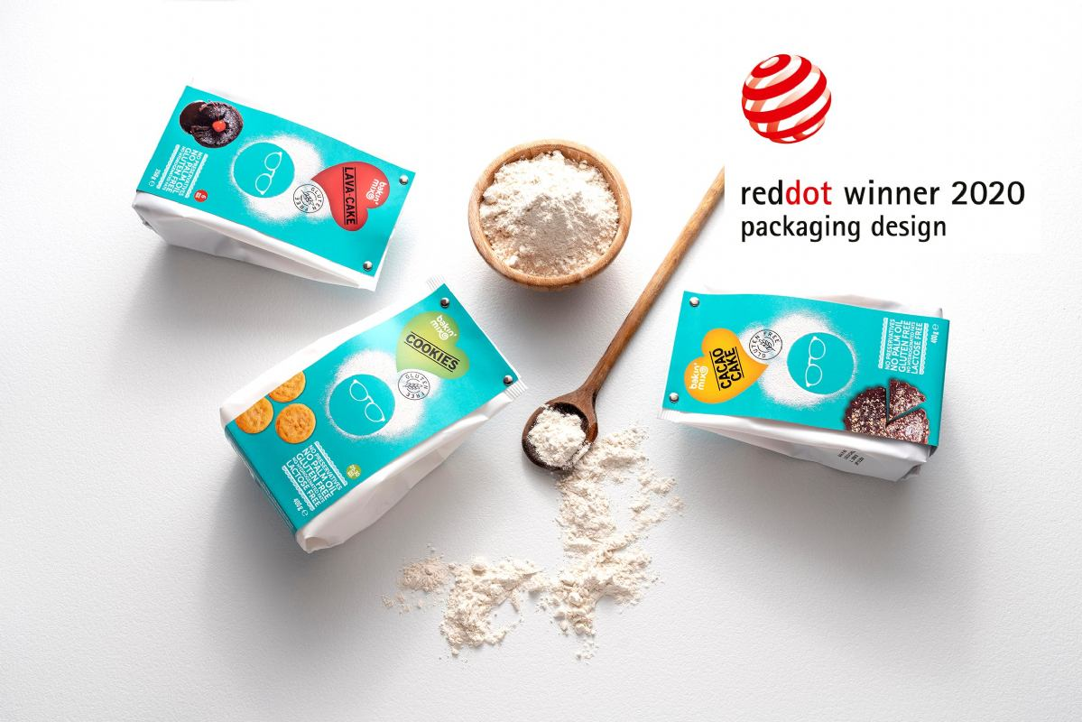 Bakin' Mix: winner of the Red Dot Design Award
