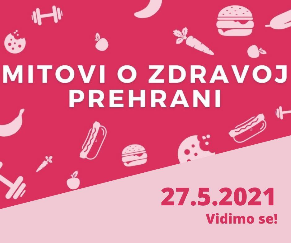Online event: Mitovi o zdravoj prehrani